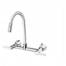 misturador para cozinha de parede docol gali bica alta 00801206 1