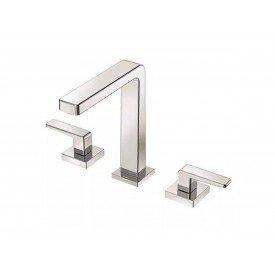 misturador para lavatorio de mesa docol stillo bica alta 00820406 1