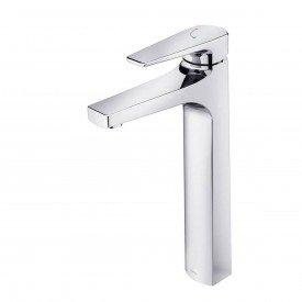 misturador monocomando para lavatorio de mesa docol lift bica alta 00796106 1
