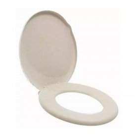 assento sanitario oval tigre suavit almofadado bege claro 1