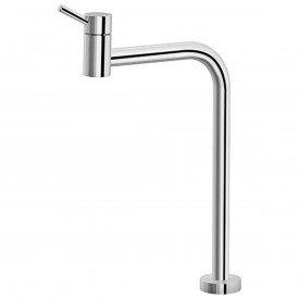torneira para lavatorio de mesa docol loggica bica alta 90 00493306