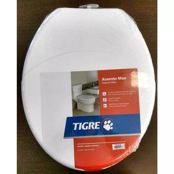 assento sanitario oval tigre max branco 2