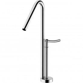 misturador monomix para lavatorio de mesa lorenzetti loren round 4877 c60 1