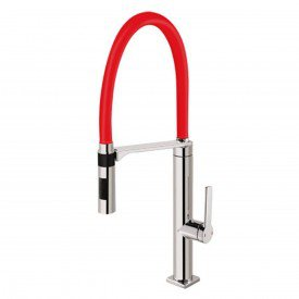 misturador monocomando para cozinha de mesa docol doc vermelho 00695779 1