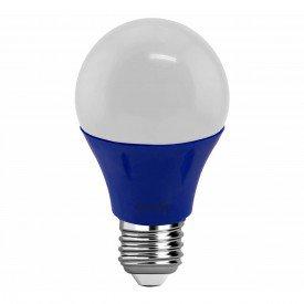 lampada led g light a60 azul 5 w autovolt e27
