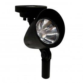 luminaria solar spot ecoforce abs luz verde 10 lumens