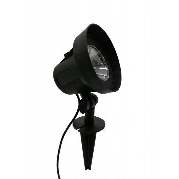 luminaria spot ecoforce abs luz verde 3 5w autovolt