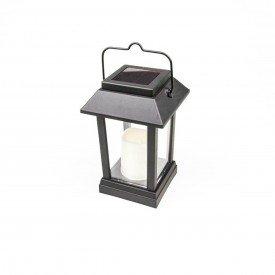 luminaria led solar ecoforce vela decorativa