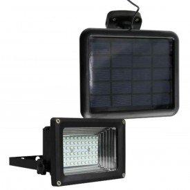 refletor led solar ecoforce luz branca 400 lumens 6 000k