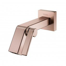 torneira lavatorio parede docol stillo cobre esc 00823469