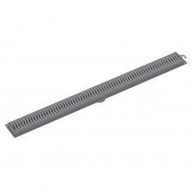 ralo linear tigre 70 cm cinza
