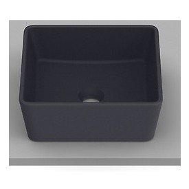 cuba de apoio com mesa roca optica 35 x 35 cm cq35 onix