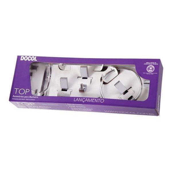 kit de acessorios docol top 5 pecas 00552906
