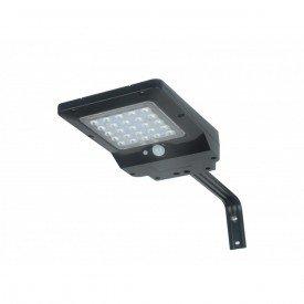 luminaria solar integrada ecoforce luz branca 4w 400 lm 1