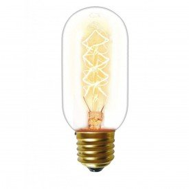 lampada filamento taschibra carbono t45 40w 220v e27