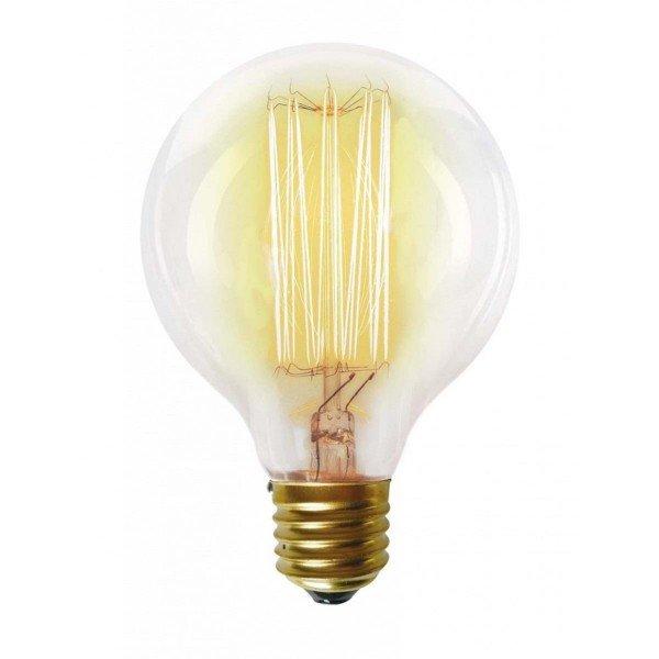 lampada filamento taschibra carbono g80 40w 220v e27