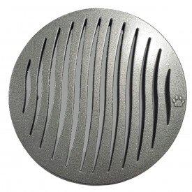 grelha redonda 150mm aluminio tigre