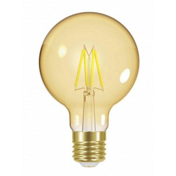 lampada led filamento taschibra vintage g80 4w autovolt e274