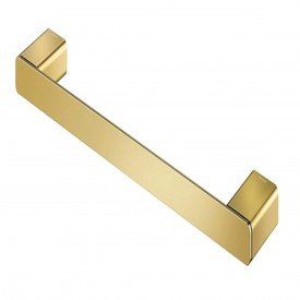 porta toalha rosto docol flat ouro polido 01013643