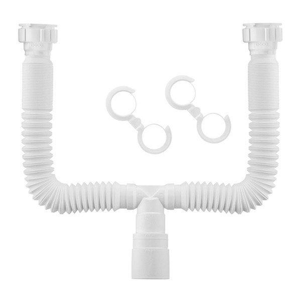 sifao extensivo universal duplo 72 cm branco docol 001231826