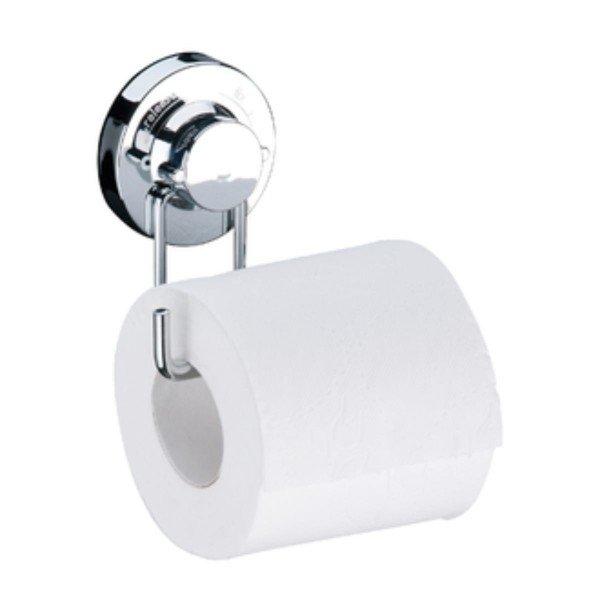 suporte para papel higienico com ventosa praticita 4008 cromado