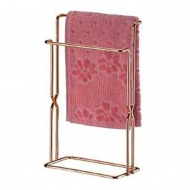 toalheiro de bancada superiore future rose gold