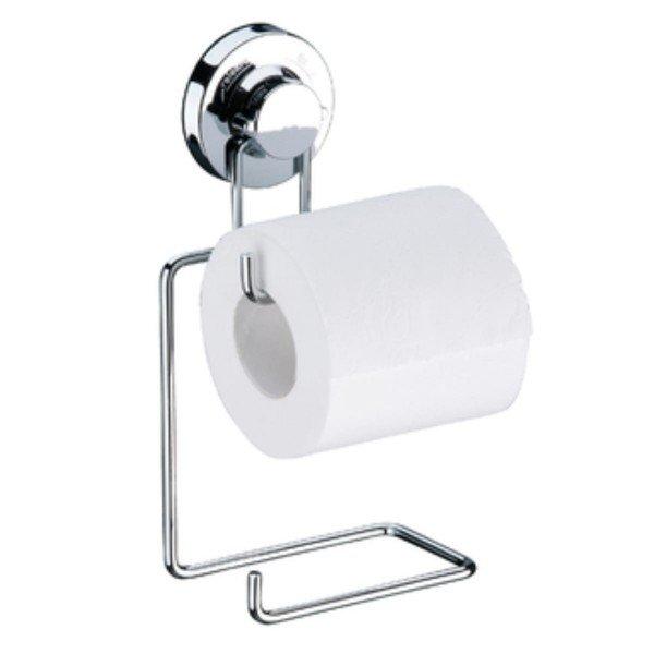 suporte para papel higienico com ventosa praticita future 4010 cromado