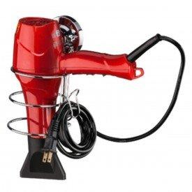 suporte para secador de cabelo com ventosa praticita future 4020 cromado
