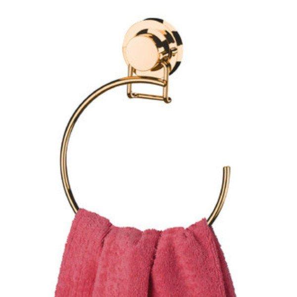 toalheiro argola com ventosa praticita utile future rose gold