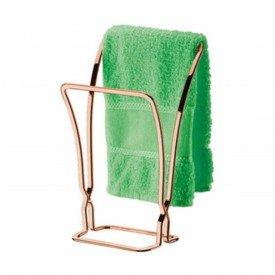 toalheiro de bancada perfezione future rose gold
