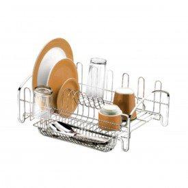 escorredor de loucas para cozinha attuale future 1605 cromado