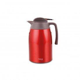 garrafa termica curve haus concept vermelha 55102 1 6 l