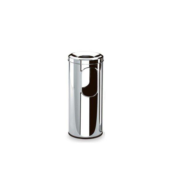 cinzeiro papeleiro inox decorline brinox 59cm