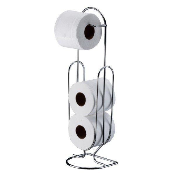 suporte para papel higienico de chao superiore future 1870 cromado