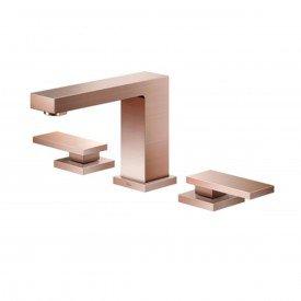 misturador lavatorio docol new edge cobre escovado 00925269