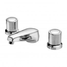 misturador lavatorio de mesa bica baixa docol itapema bella cromado 00162160