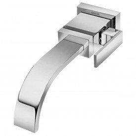 torneira lavatorio parede bica baixa docol square cromado 00428606