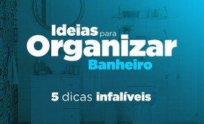 ideias para organizar o banheiro