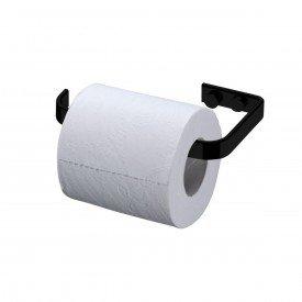 suporte para papel higienico evoluzione future 2300 preto fosco