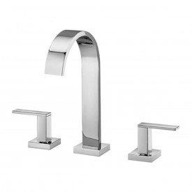 misturador lavatorio bancada bica alta docol square cromado 00348406