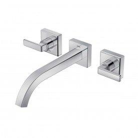 misturador lavatorio de parede bica baixa docol stillo cromado 00832406